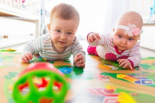 Première rentrée maternelle pour bébé