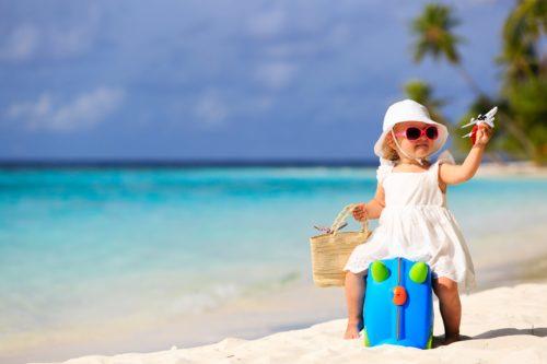 bébé en vacances