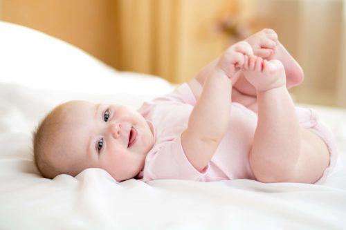 l'observation des langes de bébé