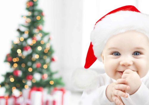 Noel avec bébé