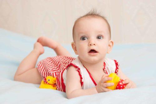6e mois de bébé
