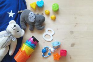La chambre de bébé doit regrouper ses propres jouets
