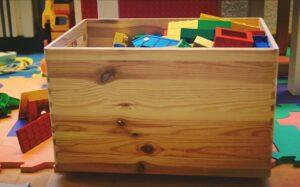 espace détente dans la chambre de bébé