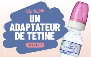 adaptateur de tétine Clip-Teat Mont Roucous