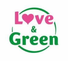 logo love and green
