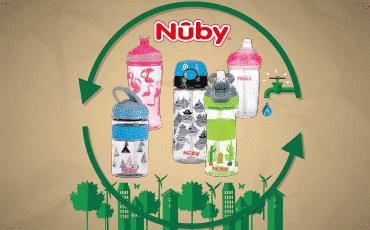 Les gobelets durables Nûby