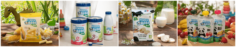 gamme laboratoire france bébé nutrition