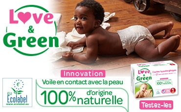 Les couches Love & Green