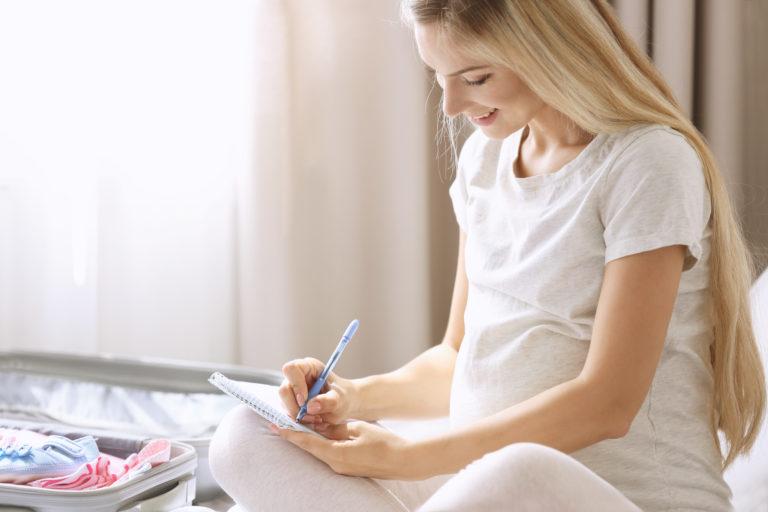 rédiger son plan de naissance