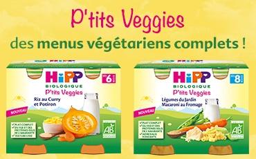 Hipp biologique p'tits veggies