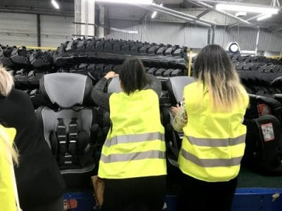 fabrication siège auto nania