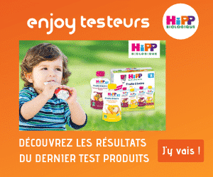 enjoy testeurs – Résultats Hipp Biologique Fruits à boire – 300*250