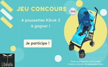 Jeu concours Libélulle été : gagnez des poussettes Kikoé 3 !