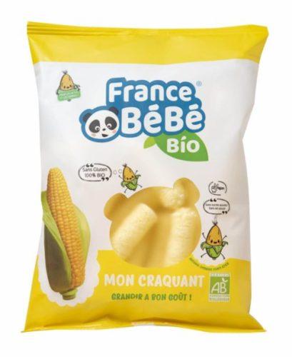 Stick de maïs soufflé – Mon craquant France Bébé Bio