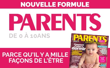 Nouvelle formule PARENTS !