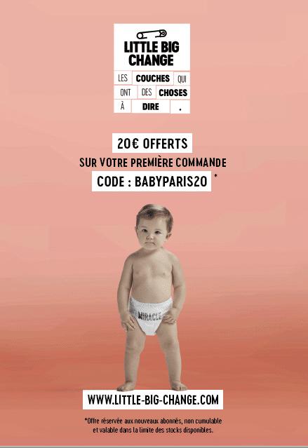 offre spéciale salon baby little big change