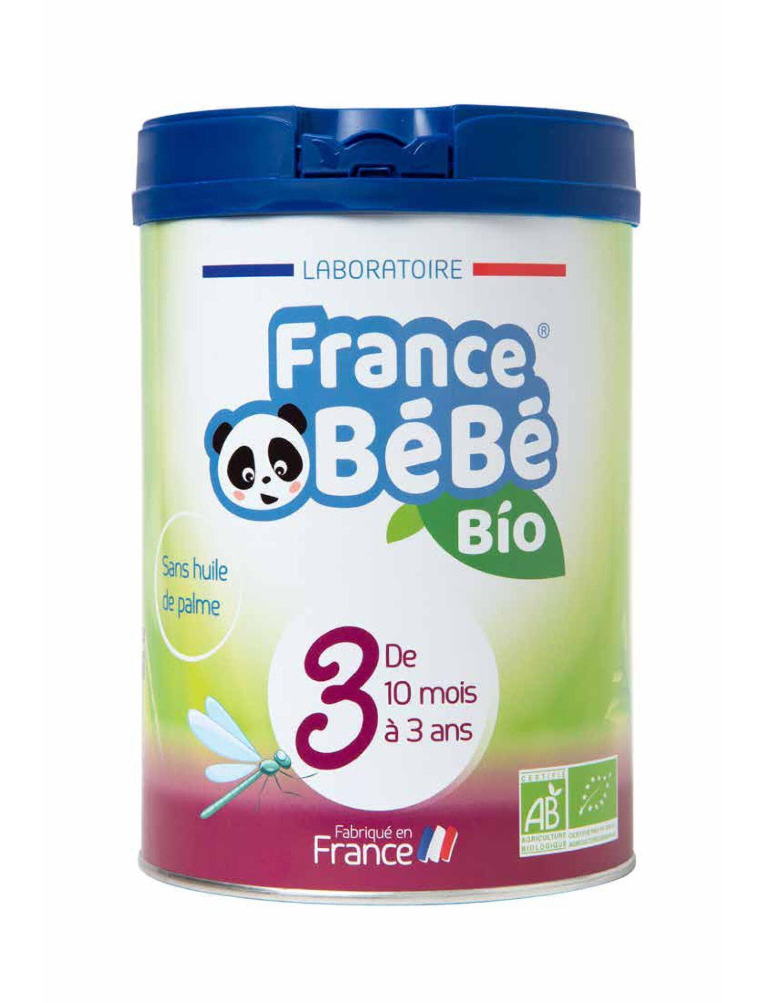 Enjoy testeurs laits infantiles France Bébé Bio