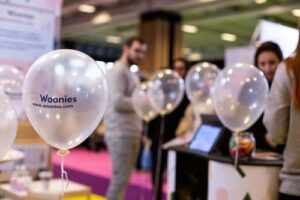animation woonies sur le salon baby de paris