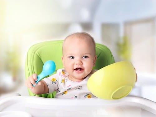 alimentation bébé : protéines