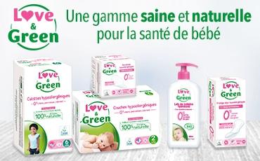 love & green produits sains sur les salons baby pour bébé