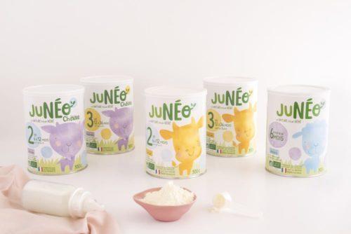 laits infantiles Juneo