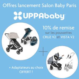 offre spéciale salon baby de paris uppababy