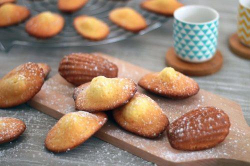 madeleines au citron recette