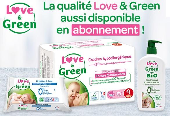 Abonnement Love & green