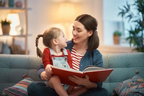 lire avec un enfant pour qu'il ait du plaisir