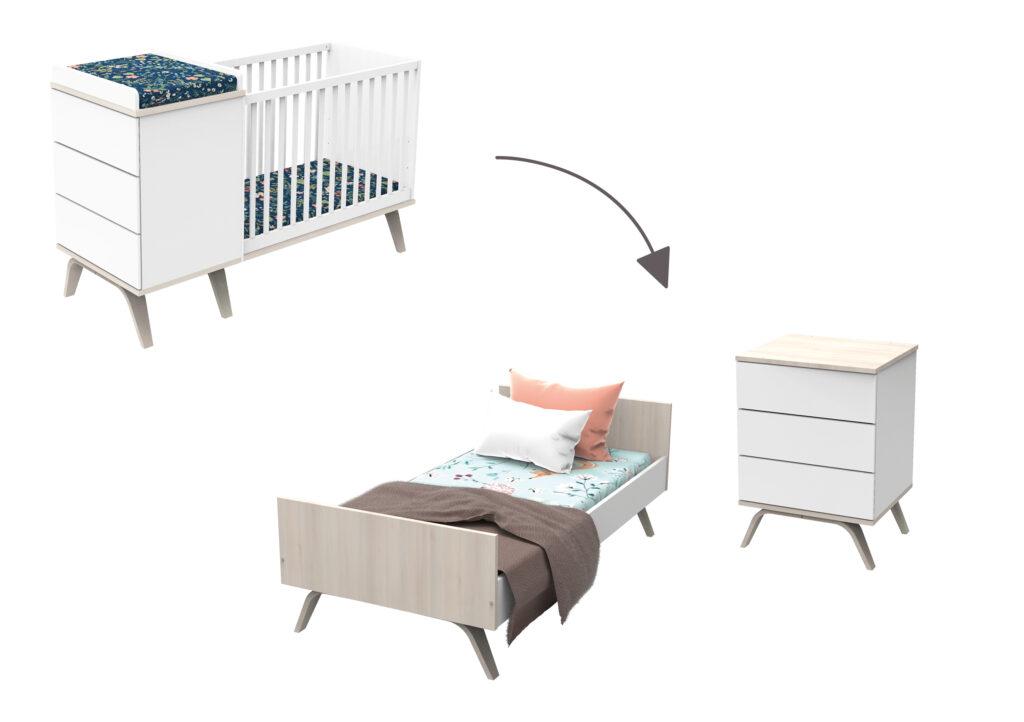 lit combiné sauthon mobilier