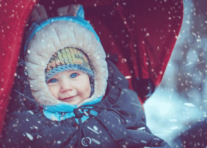 Hiver : protéger bébé du froid