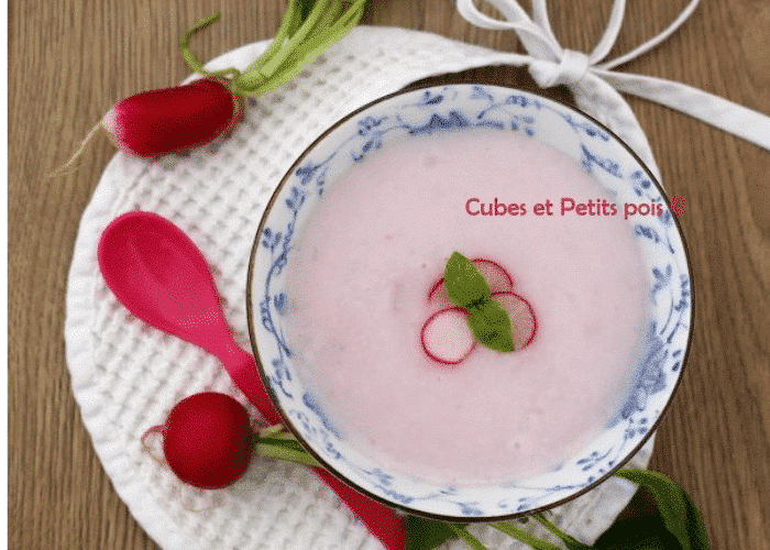recette bébé radis de printemps