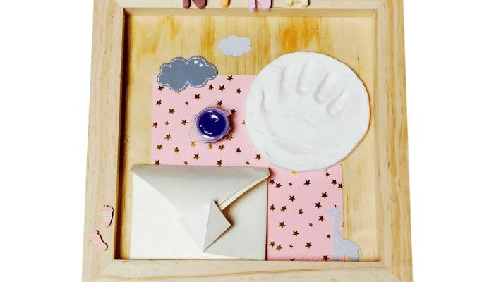 Kit Diy pour faire des cadres empreintesbébé
