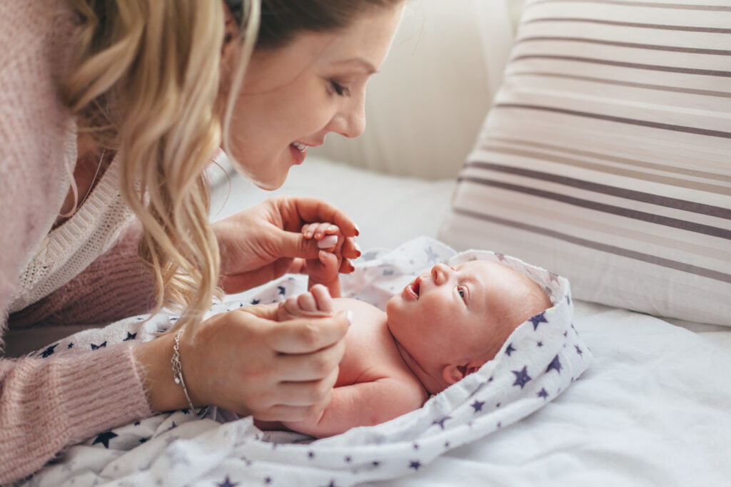 Babillage bébé