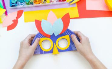 DIY masque d'oiseau