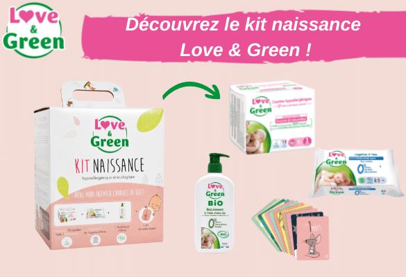 bon plan love and green kit naissance