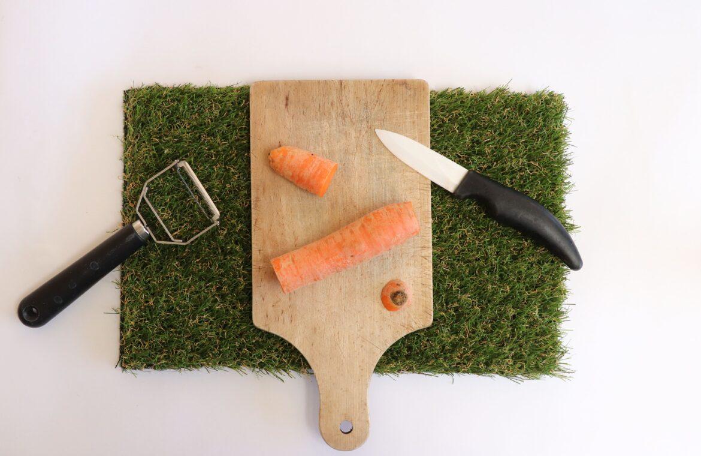 Flute carotte étape 1
