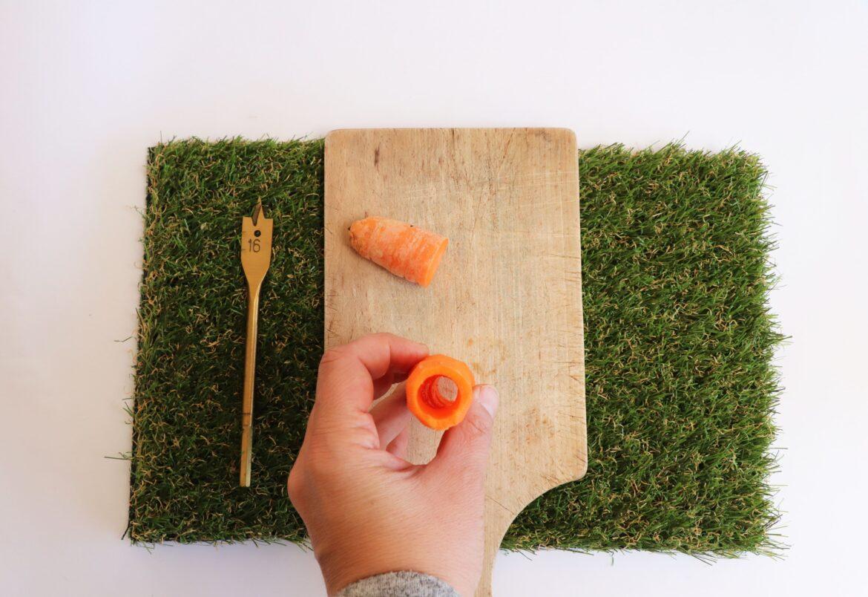 Flute carotte étape 2