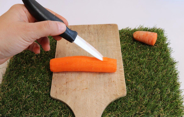 Flute carotte étape 3